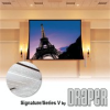Ceiling-Recessed Electric Projection Screen -- Signature/Series V