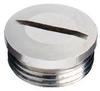 MURRPLASTIK 83721410 ( (PRICE/PK OF 100) BSTK-PG 7 GREY BLANK PLUG ) -Image