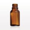 Glass Bottle, Amber -- 30087