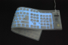 Washable Full-size Backlit Keyboard USB/PS2 -- KBWKFC109L