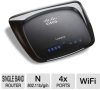 Linksys WRT120N Wireless-N Home Router - IEEE 802.3u, 802.11 -- RB-WRT120N