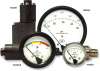 Heavy-Duty Diaphragm Sensor Differential Pressure Gauge -- 1533DGS