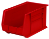 Akro-Mils Akrobin 60 lb Red Industrial Grade Polymer Hanging / Stacking Storage Bin - 18 in Length - 11 in Width - 10 in Height - 1 Compartments - 30260 RED -- 30260 RED