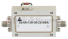 2.2 dB NF Low Noise Amplifier Operating From 8 GHz to 12 GHz with 38 dB Gain, 13 dBm Psat and SMA -- SLNA-120-38-22-SMA -Image