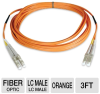 Tripp Lite N520-01M Duplex MMF Patch Cable - 3-Foot, Orange -- N520-01M