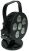 Portable Magnetic Mount LED Light Emitter - 6, 10-Watt LEDs - 675'L X 90'W Spot Beam - 9-48VDC -- LED10W-6R-HT