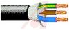 CORDAGE, PORTABLE, 3 CONDUCTOR, 14AWG, STANDARD SJT-3, PVC JACKET, 300V BLACK -- 70004175