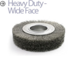 Crimped Wire Wheel Brush -- BDH-7