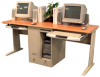 Two Person/Tower Computer Workstation -- LCW180