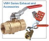 Two-Piece Safety Exhaust Valve -- VMH2 Series