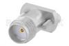 SMA Female Connector Clamp Attachment Vertical Launch PCB, Removable Stripline Launch -- PE45458 -Image