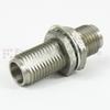 2.4mm Female (Jack) to 2.4mm Female (Jack) Bulkhead Adapter, 1.3 VSWR -- SM3015 - Image