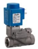 Servo-operated 2/2-way Solenoid Valves with Isolating Diaphragm EV222B Series