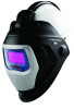 3M Speedglas 9100V 56359 Helmet Assembly - Auto-Darkening Lens - Battery Powered - 3.7 in Viewing Width - 1.8 in Viewing Height - 051141-56359 -- 051141-56359 -- View Larger Image
