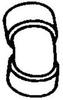 ABS DWV 22.5 ELBOW -- 601062 - Image