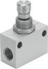 One-way flow control valve -- GR-M5-B -Image