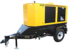 Winco RP55 - 45kW Industrial Towable Generator w/ Trailer -- Model RP55