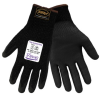 Global Glove Samurai PUG-555TS Black Small Yarn/Fibers Cut-Resistant Gloves - ANSI A4 Cut Resistance - Polyurethane Palm Coating - PUG-555TS SM -- PUG-555TS SM