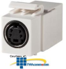Legrand - Ortronics Keystone, S-Video, Feed-Thru -- OR-KSSVIDC