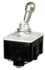 TL Series Toggle Switch, 4 pole, 2 position, Screw terminal, Locking Lever -- 4TL887-3D