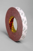 3M 469 Red Bonding Tape - 1 in Width x 60 yd Length - 5.5 mil Thick - Silicone-Coated Paper Liner - 38391 -- 021200-38391