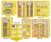 Gas Cylinder Storage Cabinets -- HEGCC8-50 -Image