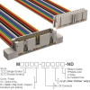 Rectangular Cable Assemblies -- M3CWK-2436R-ND -Image