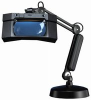 LUXO 17910BK ( MAGNIFIER, INSPECTION, ILLUMINATED 2.25X; ARM LENGTH:1.143M; TOOL BODY MATERIAL:ABS; MAGNIFICATION:2.25X; BODY MATERIAL:STEEL, PLASTIC & POLYCARBONATE ) -- View Larger Image