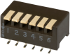 DIP Switches -- 193-6MSR-ND -- View Larger Image