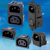 IEC 320 Power Inlet / IEC 320 Power Outlet -- View Larger Image