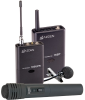 Azden 105ULH Wireless UHF Lavalier and Hand-Held Microphone -- 105ULH