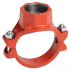 Saddle Fitting -- 920-OLET-BSPT-PNT-E-76.1X1.25 - Image
