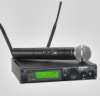 UHF Professional Wireless Dual Combo System, with WA302 Instrument Cable, ULX2/58 Handheld Transmitter and SM58 Microphone -- ULXP124/58