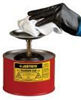 Justrite Job-Matched Plunger Safety Cans