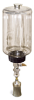 "(Formerly B1745-7X10), Manual Chain Lubricator, 1/2 gal Polycarbonate Reservoir, 1 1/2"" Round Brush Stainless Steel -- B1745-064B1SR4W -- View Larger Image"