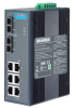 6GE+2G SC Multi-mode Unmanaged Ethernet Switch, -40~75℃