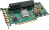 PCI Express A/D Board AD8-1500 Series - Dual 8 bit, 1.5 GS/s -- AD8-1500x1-8GB-50T