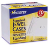 Memorex Standard CD Jewel Cases (Clear, 10 Pack) -- 32021901CP4