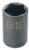 Hex Bit Socket,Standard,3/8 In Dr,5mm -- 12A263