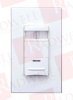 LEVITON ODS06-IDW ( WALL SWITCH OCCUPANCY SENSOR, PASSIVE INFARED (PIR), 1600SQ FT, 180 DEGREE, 1/4 HP @ 120V, MANUAL ON/OFF, WHITE ) -- View Larger Image