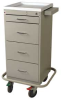 Mini-Line Punch Card Medication Cart with Key Lock MLT240PC -- MLT240PC -- View Larger Image