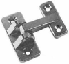 Chrome Plated Die-Cast Hinges -- 101 - Image