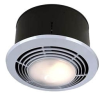 Ceiling Mount Fan Driven Heater and Ventilator and Light -- 9093WH