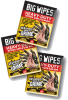 Big Wipes Heavy Duty Wipes 8 in x 12 in, Sample Packet -- 6005 0006 SAMPLE -Image