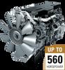Diesel Engine, 455-505 HP, Detroit Diesel -- DD15