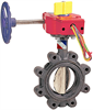 Butterfly Valve - Ductile Iron, Sprinkler System, UL Listed -- LD-3510