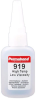 Permabond 919 High Temp Resist Cyanoacrylate Adhesive Clear 1 oz Bottle -- 919 1 OZ BOTTLE - Image