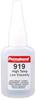 Permabond 919 High Temp Resist Cyanoacrylate Adhesive Clear 1 oz Bottle -- 919 1OZ BOTTLE