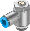 One-way flow control valve -- GRLA-1/2-QS-12-D -Image