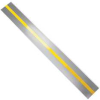 Tape Strips,Reflective Stripe,Gray,PK100 -- 15D660 - Image